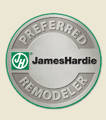 James Hardie Logo, Better Business Bureau Logo